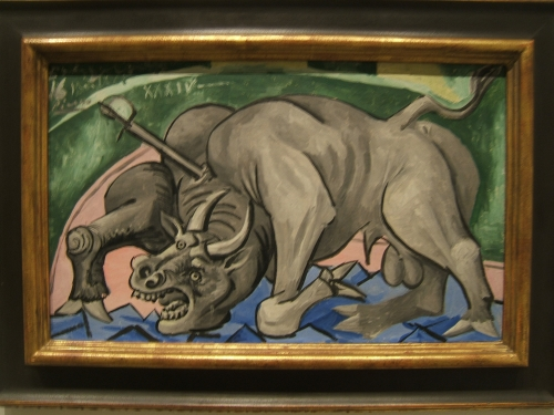 dying_bull_pablo_picasso