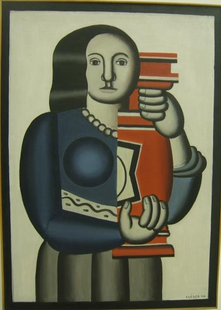 Fernand_leger_woman_vase_1924