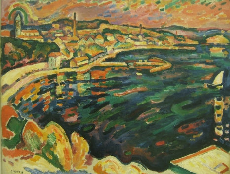 Georges_Braque_harbour_estaque_1906