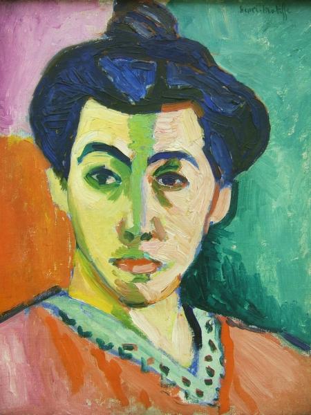 Matisse_portrait_madame_matisse_green_line
