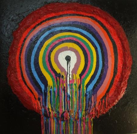 Modern Acrylic Painting