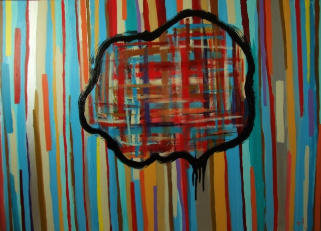 Modern Art Painting Pablo Saborio
