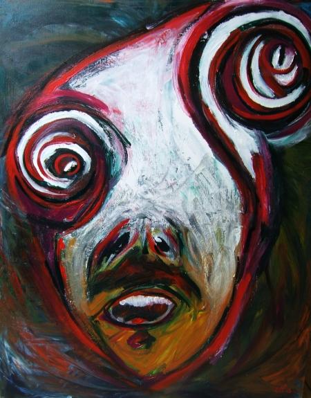 Contemporary painting Pablo Saborio