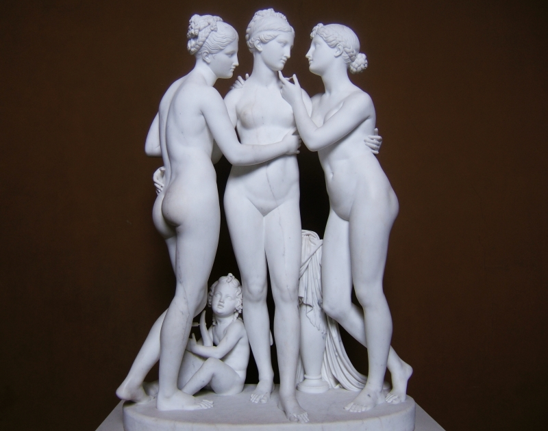 Cupid and the Graces