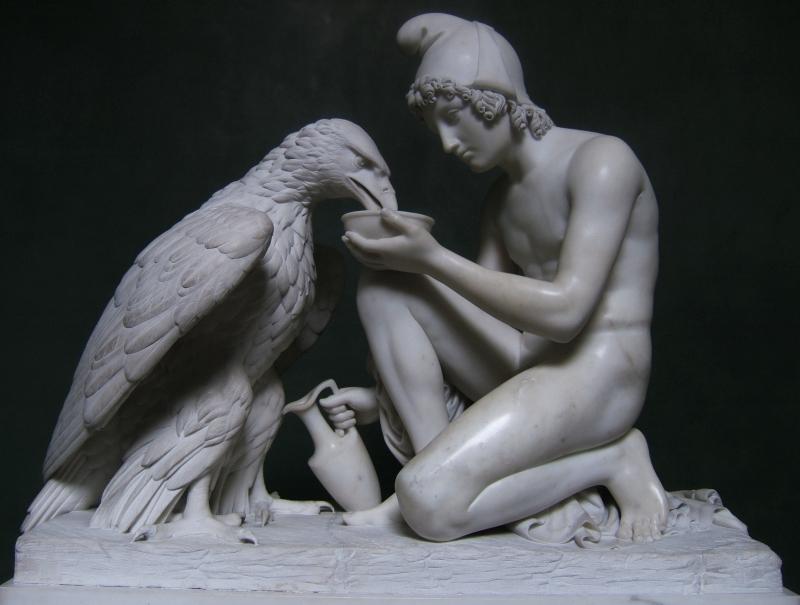 Ganymede and Zeus as Eagle