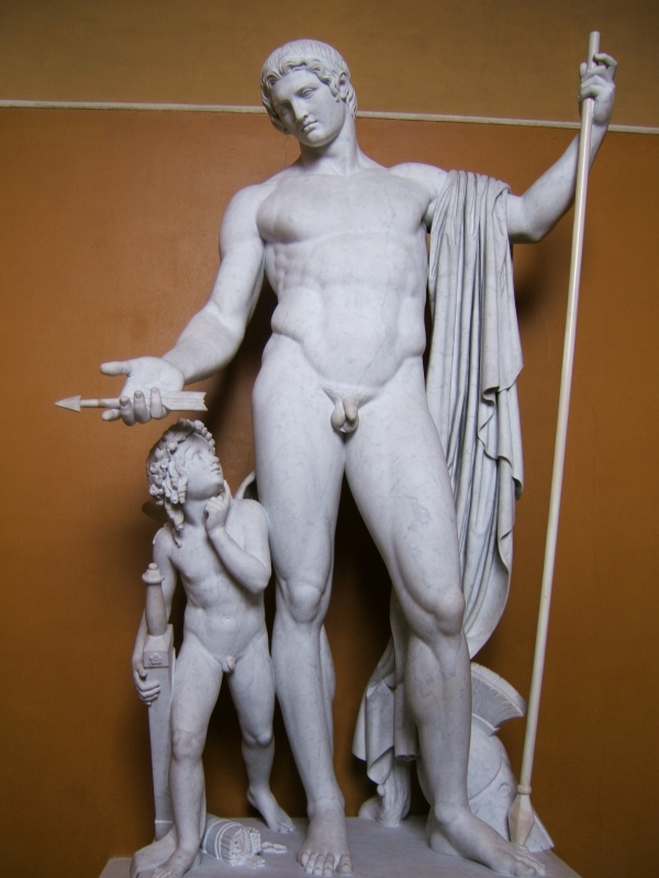 Mars and Cupid