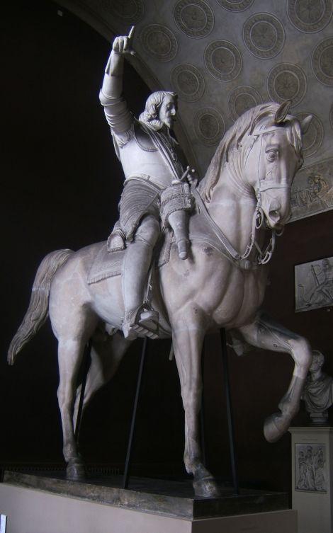 Maximilian I (plaster model)