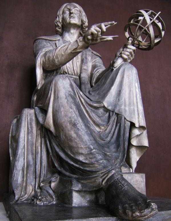 Copernicus (plaster model)