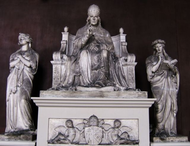 Pius VII (plaster model)